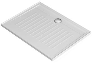 Access 1200x900 Anti Skid Shower Base Center Outlet