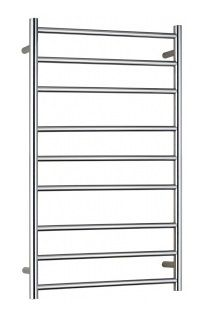 Heated Towel Rail Round 9 Bar Dual Wire