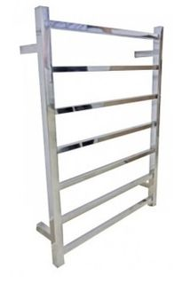 Heated Towel Rail Square 7 Bar Dual Wire