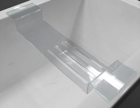 Small Easy Clean Acrylic Bath Caddy