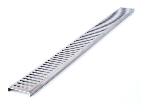 1140mm Channel Grate SS - Punched