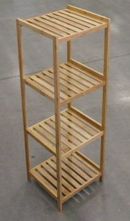 Bamboo 4 Tier Tower 37x33x110cm