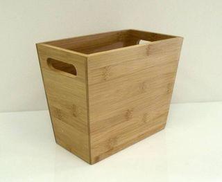 Bamboo Storage Box 23x13.5x18.5cm