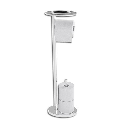 Ovo Toilet Caddy Chrome