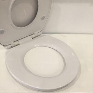 Family Toilet Seat White Duroplast