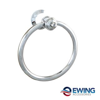 Pasadena Towel Ring White