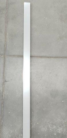 Frameless Chrome Wall Channel 2100x40mm