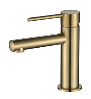 Star Mini PVD Brushed Bronze 25mm Basin Mixer