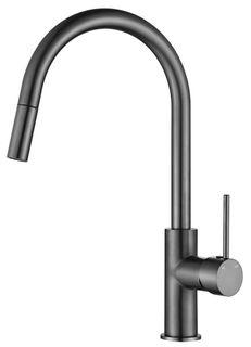 Star Mini Gun Metal 35mm Pull Out Kitchen Mixer