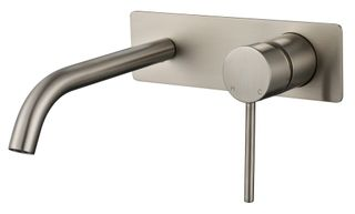 Star Mini PVD Brushed Nickel 35mm Wall Combination
