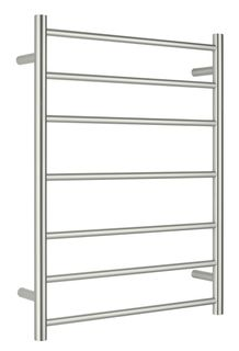 Bianca Towel Ladder 7 Rung Round Brushed Nickel Unheated