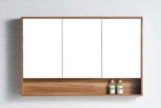 Versilia 1200 Mirror Storage Cabinet