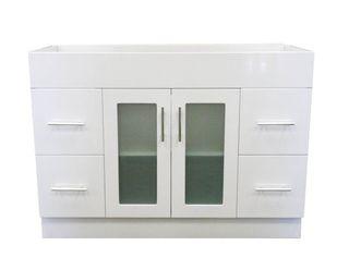 James 1200 Glass Door Vanity