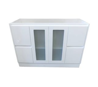 Jessica 1200 Glass Door Vanity