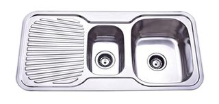 Sink Rnd Cnr 980 11/2 Right Hand Bowl