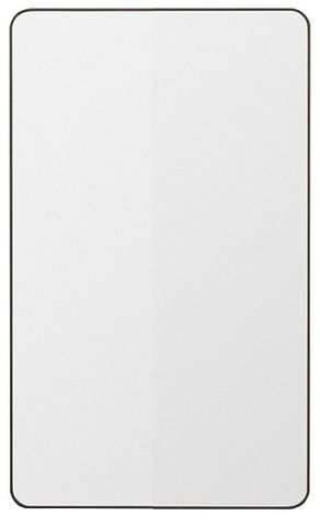 450x900 Rounded Rectangular Mirror