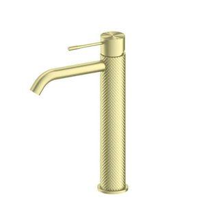 Opal Brushed Gold Tall Basin Mixer