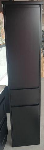 Jessica MATT BLACK Tall Boy 1800 X 410 X 400
