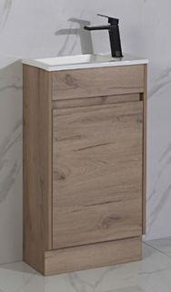 Revit Timber Look Passage Vanity Floor Mount
