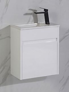 Brant Wall Hung Gloss White Vanity (260m