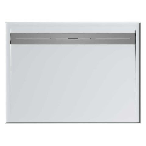 Urban 1500x900 Shower Base Rear Outlet + Grate