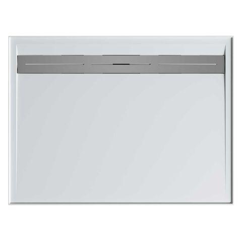 Urban 900x900 Shower Base Rear Outlet + Grate