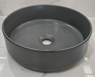 Mersey Matt Grey A/C Basin 360x360x120