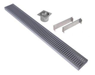 Aluminium Floor Grate 100mm =<800mm (length) x 100mm x 26mm