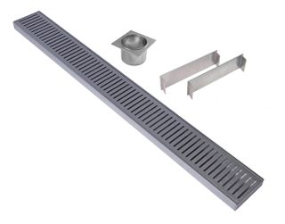 Aluminium Floor Grate 100mm =<1800mm (length) x 100mm x 26mm