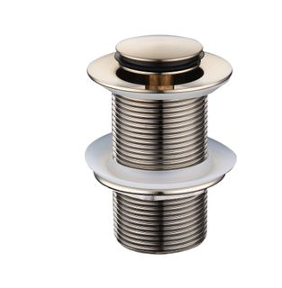Star PVD Brushed Nickel 32mm Pop- Up Was
