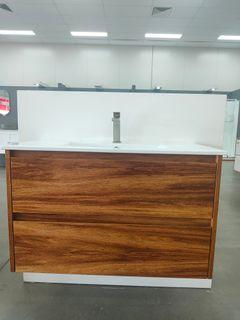 Amelia Tasmanian Blackwood Wall Hung Vanity 900 Cabinet Only