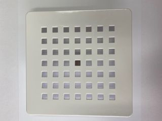 Eco Shower Waste Cover White