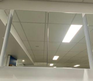 900 Pencil Edge Mirror Cabinet