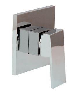 Savanna Square Chrome Shower Mixer