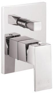 Savanna Square Chrome Shower Mixer wth Diverter