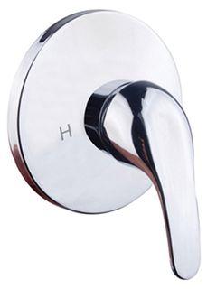 Diaz 2 Shower Mixer Solid Handle