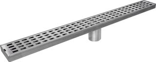 1200mm Floor Drain S/S Rectangle