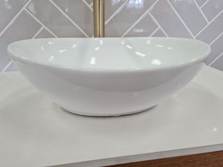 Vienna Oval Above Counter Basin 400x340x145mm