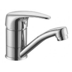 Diaz 2 Basin Mixer Swivel Solid