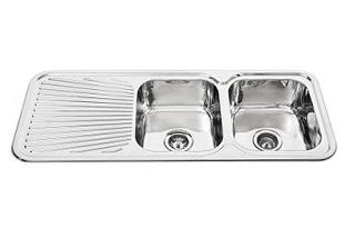 Sink Rnd Cnr 1180 Double Right Hand Bowl
