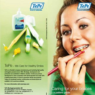 TEPE CARING FOR YOUR BRACES PAMPHLET