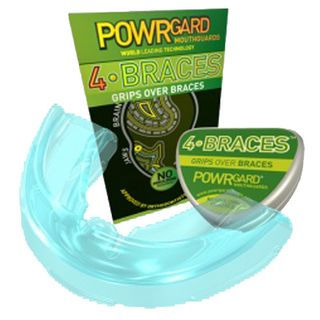 POWRGARD 4 BRACES MOLDABLE-GREEN DOUBLE ARCH