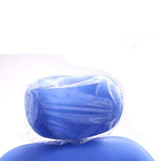 HEADREST COVERS REGULAR PLASTIC 11x10INCH (28x25cm) 250pkt