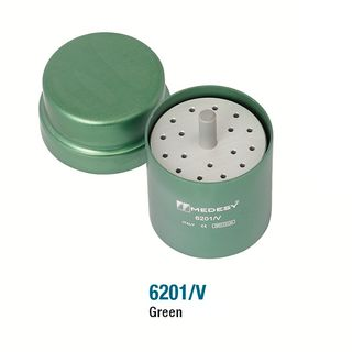ENDODONTIC FILE BOX ROUND GREEN