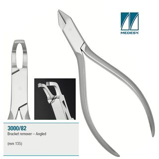 BRACKET REMOVING PLIERS ANGLED 135mm