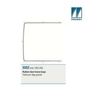 RUBBER DAM FRAME YOUNG LARGE 140 X 140MM