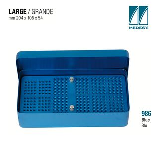 ENDODONTIC FILE BOX BLUE 204x105x54mm