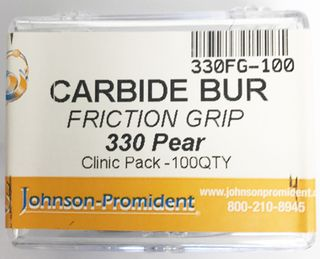 CARBIDE BUR FG 330 PEAR SHAPE BULK 100 PK