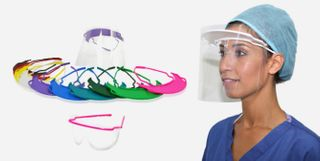 FULL FACE VISOR 10 PACK