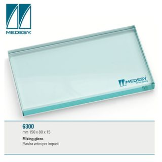 GLASS SLAB 150x80x15mm